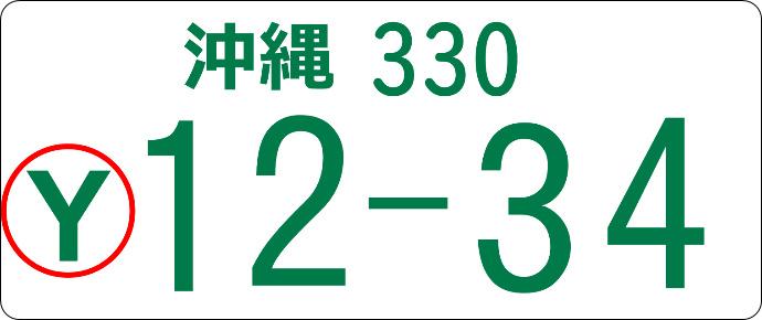 Yナンバーのイメージ