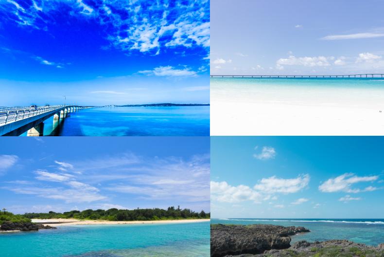 伊良部島、伊良部大橋、海